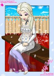 JulyViolet - Animated Harem Elsa Pregnant