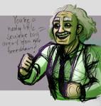 Coloured sketch: :)