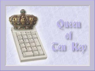 Queen of Ten Key by HelenaZF