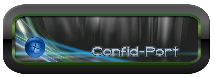 Confid-Port logo by HelenaZF