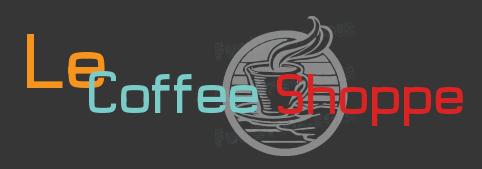 Le Coffee Shop logo by HelenaZF