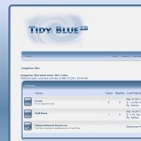 Tidy Blue by HelenaZF