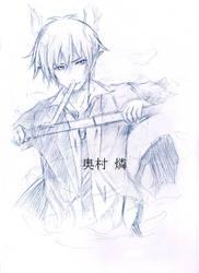 Okumura Rin by Taka-Katsura