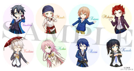 K Badge Designs by Taka-Katsura