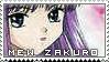 Mew Zakuro Stamp by lovenotwarcraft