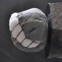 Stuffed stone by jiyuseki
