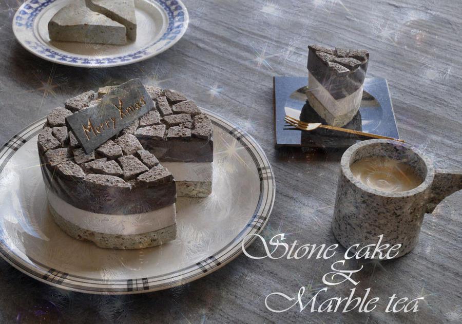 Stone cake by jiyuseki