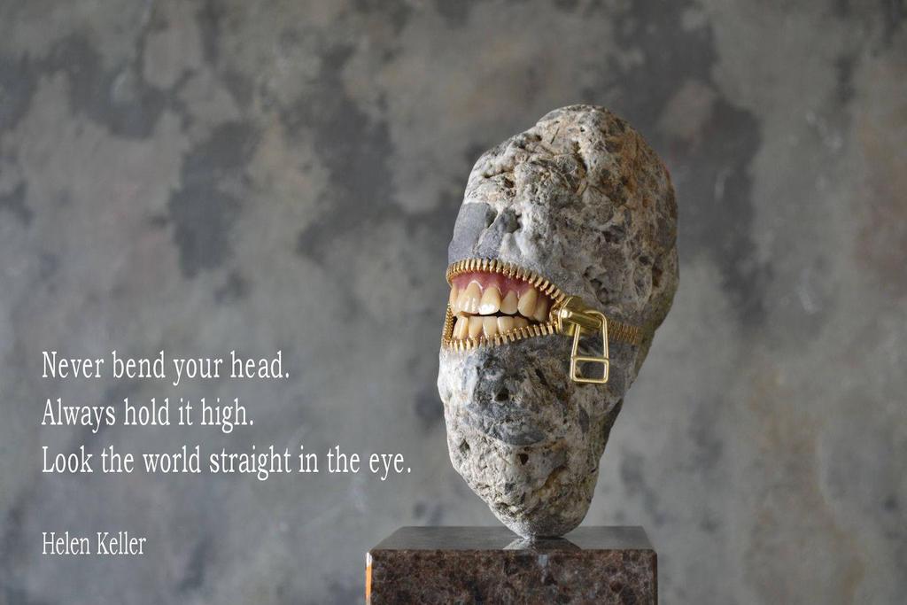 Never bend your head by jiyuseki