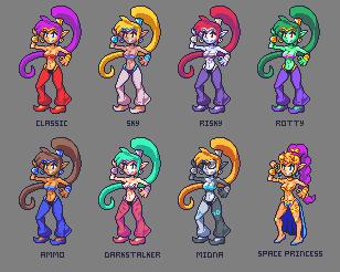 Shantae for super smash bros? by Noscium