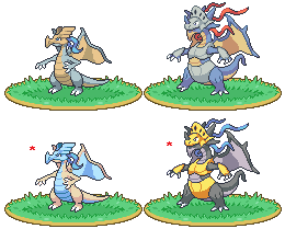 Armor dragon fakemon by Noscium