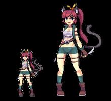 Thief Catgirl by Noscium