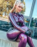 Purple latex 7