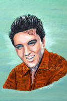 Elvis 1958 ~Commission~ by NualaHolloway