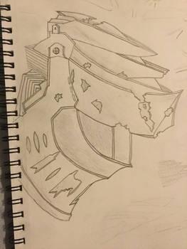 Based off of Dark Souls III helmet