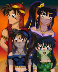 Desert Princess Cast