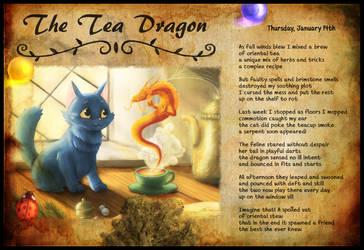 The Tea Dragon by C1nderellaMan