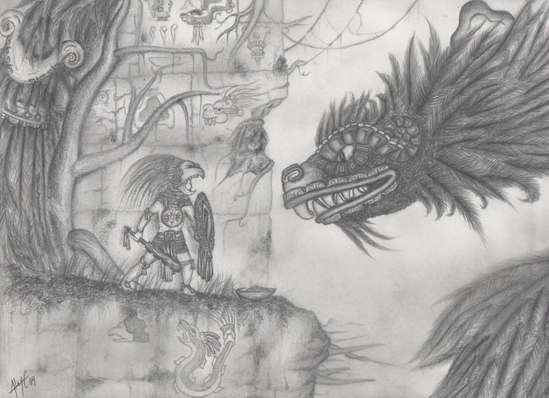 Quetzalcoatl Legend by Alexchiu1291