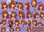 Prince Expression Sheet Thing I did...