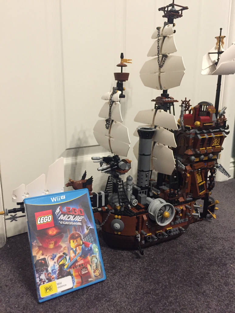 The Lego Movie Videogame And The Sea Cow By Maxtreme379 On Deviantart