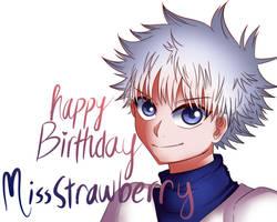 Happy Birthday, MissStrawberry!!