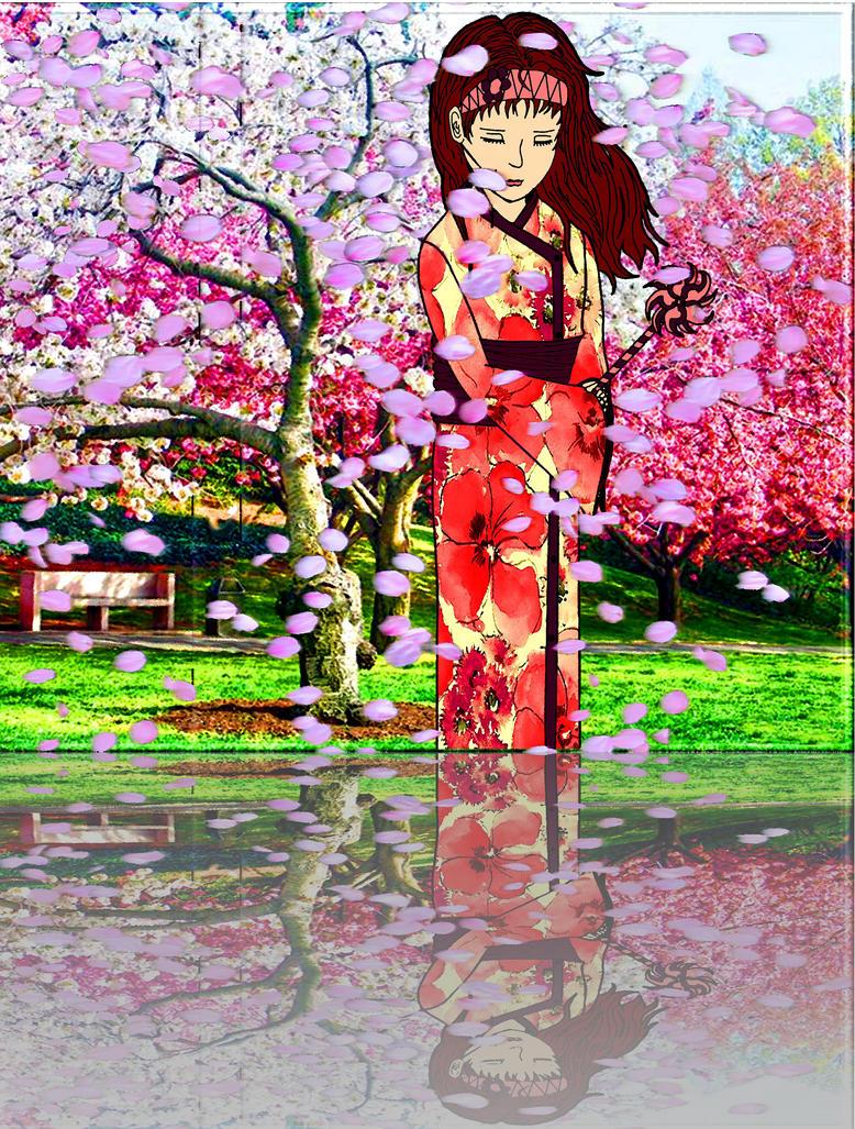 Cherry Blossom Breeze by jadynsyn