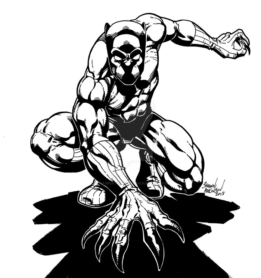 Black Panther By ShawnAtkinson On DeviantArt