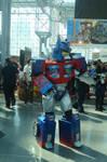 NYCC 2014 - Angry Optimus?