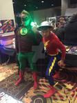 WinterCon 2015: Green Lantern and Flash