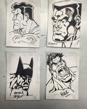 KCC Sketch cards