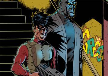 Colored Panel: BOMBSHELLS INC. #3