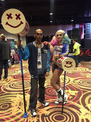 WinterCon 2016-El Diablo and Harley Quinn