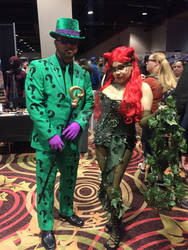 WinterCon 2016 -Riddler and Poison Ivy