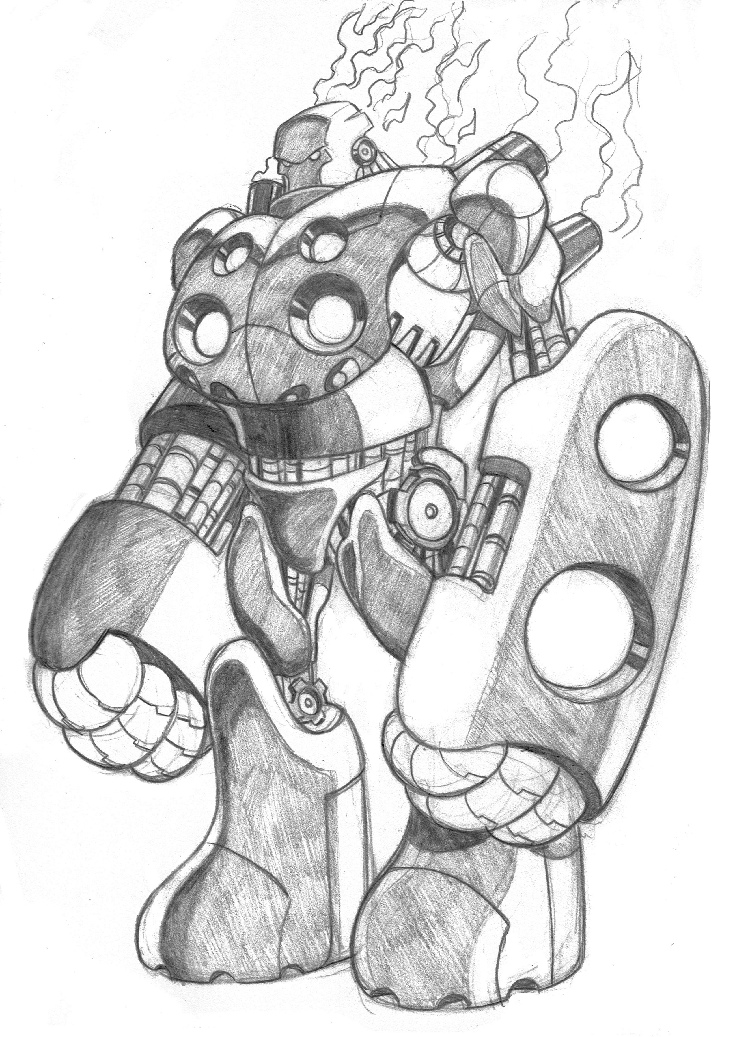 Sketch- Cestus by ShawnAtkinson