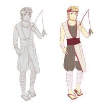 HLV Character Design by darlingGrim