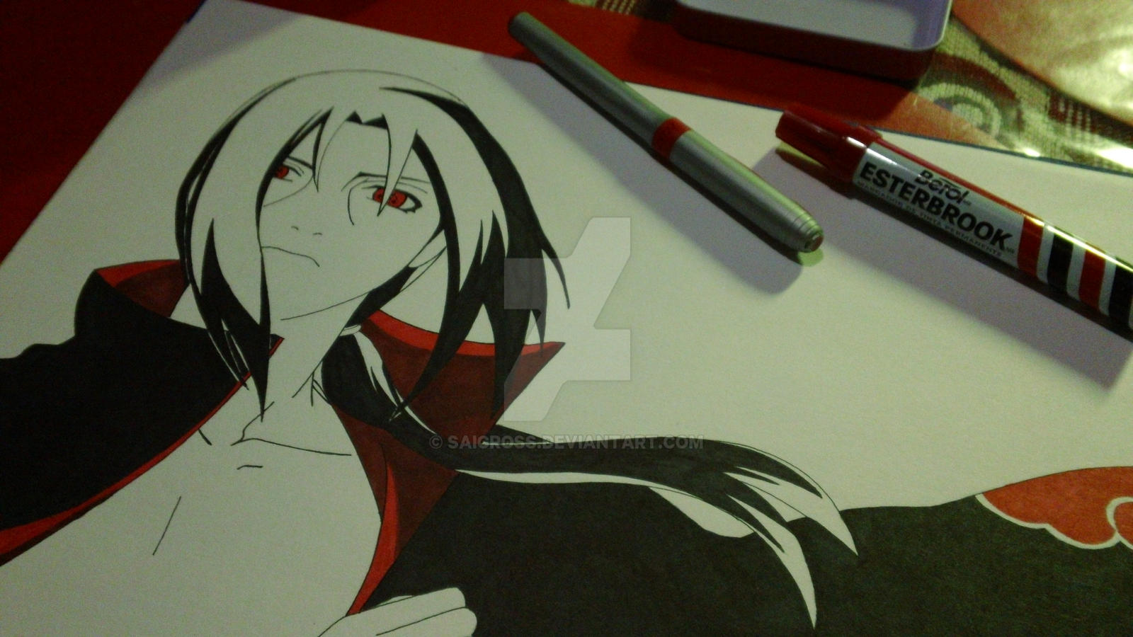 itachi uchiha drawing 2 by saicross itachi uchiha drawing 2 by saicross