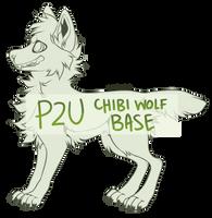 P2u | chibi wolf base by lostowns