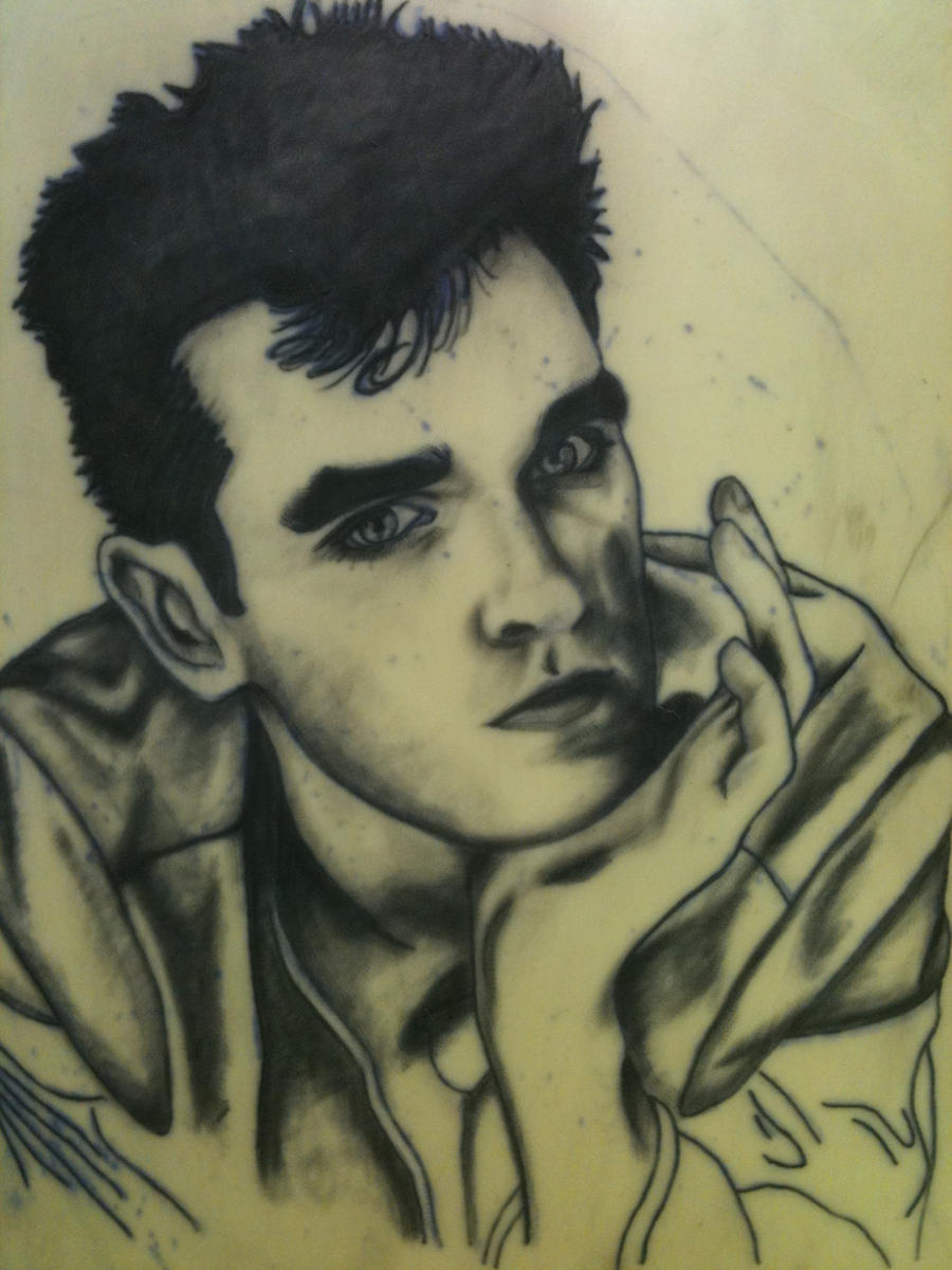 Morrissey tattoo WIP 2 by TheMediumHacker