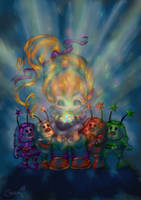 Rainbow Brite by Cookiepoppet