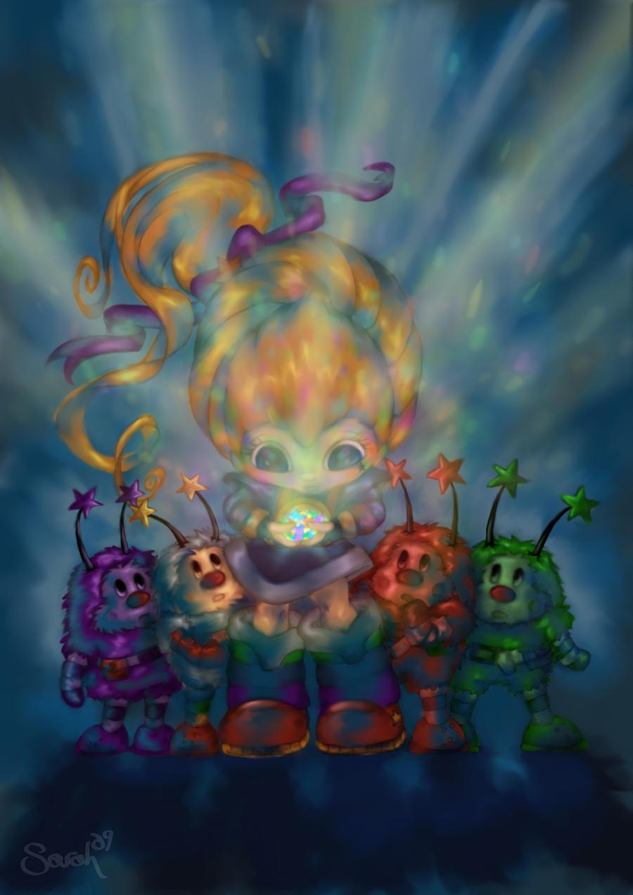 Rainbow Brite by Cookiepoppet