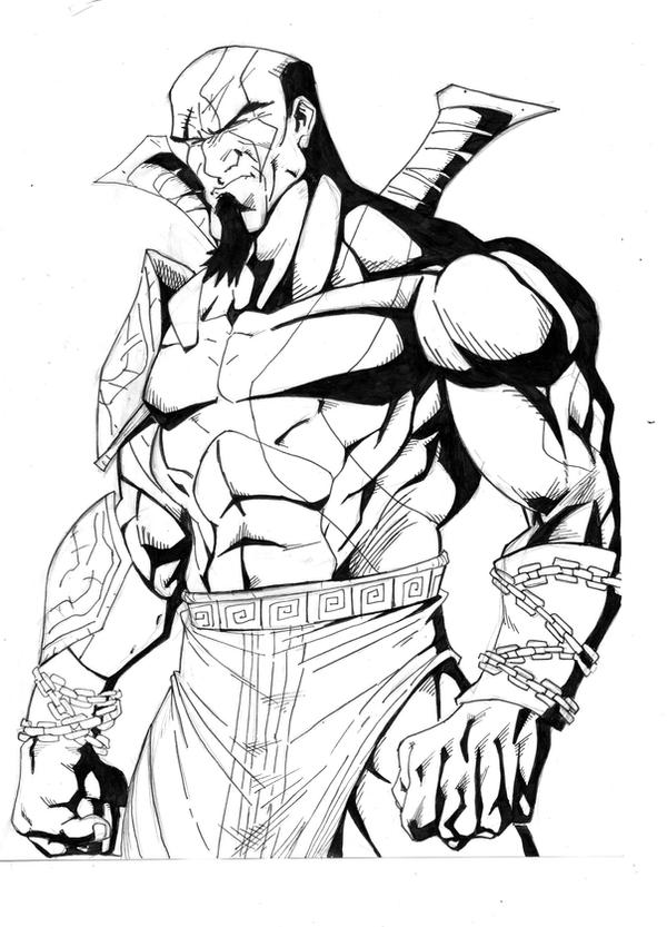 god of war coloring pages - photo#19