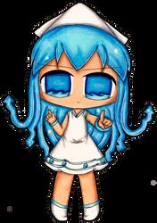 Squid Girl by KaiPri