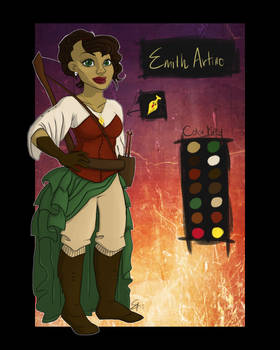 Commission: Emith Character Sheet