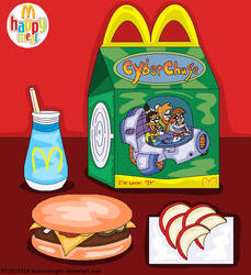 Cyberchase Happy Meal by BlossomBright