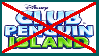 Anti Club Penguin Island Stamp by BlossomBright