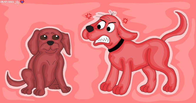 Clifford Dislikes Live Action Clifford