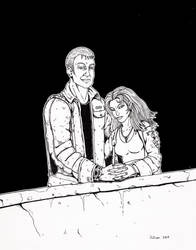 Shadowrun Couple by Squinky by NightLife9k