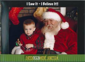 Aiden and Santa 2010