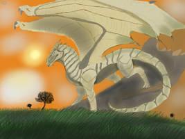 Wild Dragon  by dragonartist14