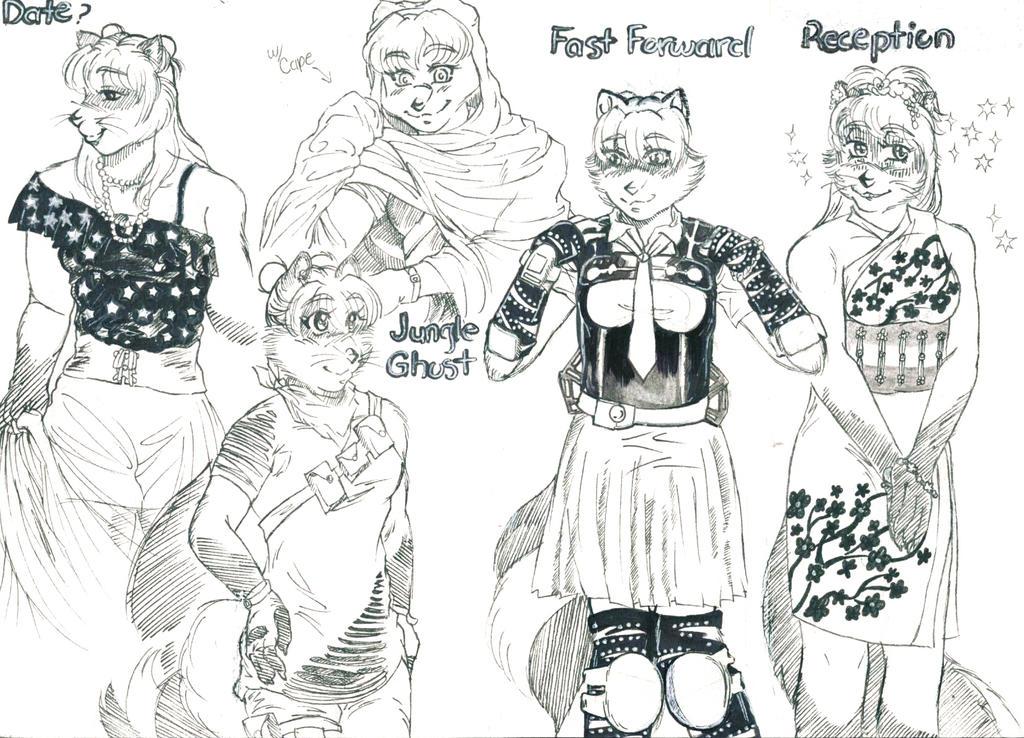 Bluu's Wardrobe by BluuMaskedBandette10