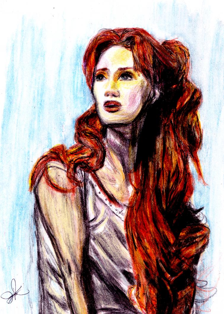 Sierra Boggess as Ariel by Eleanor-Anne6